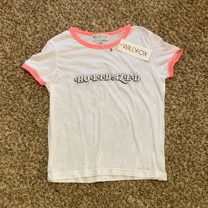 NWT Wildfox Holidazed Shirt